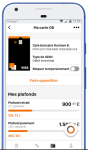 application mobile banque en ligne test